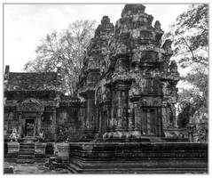 Banteay-Srei #1 by Roger-Wilco-66