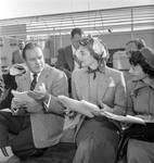 Bob Hope, Lauren Bacall, Nobu McCarthy