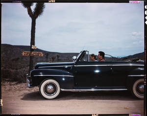 Larry Parks and Betty-Carret ca. 1950