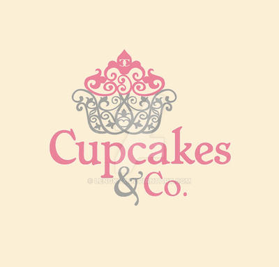Cupcakes and Co. Logo by lengkyx