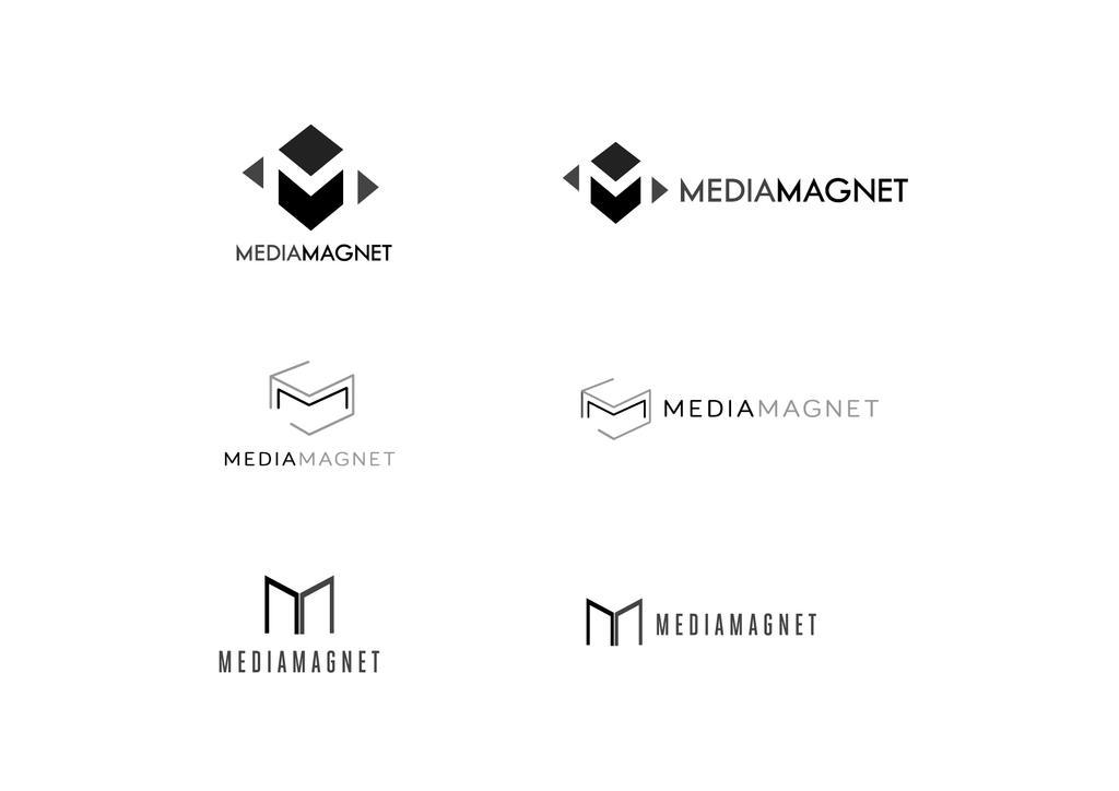 mediamagnet logo studies by lengkyx