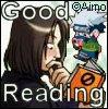 Good Reading Icon by BakaHammerGirl