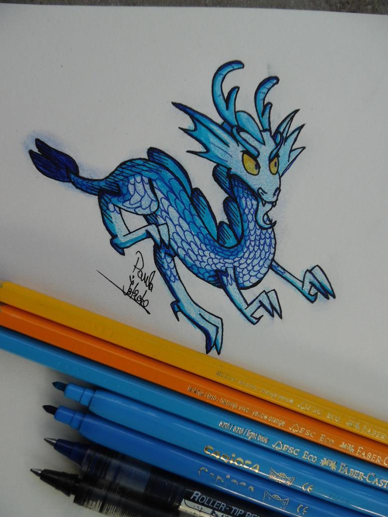 Blue Dragon. by DarkJazmin11