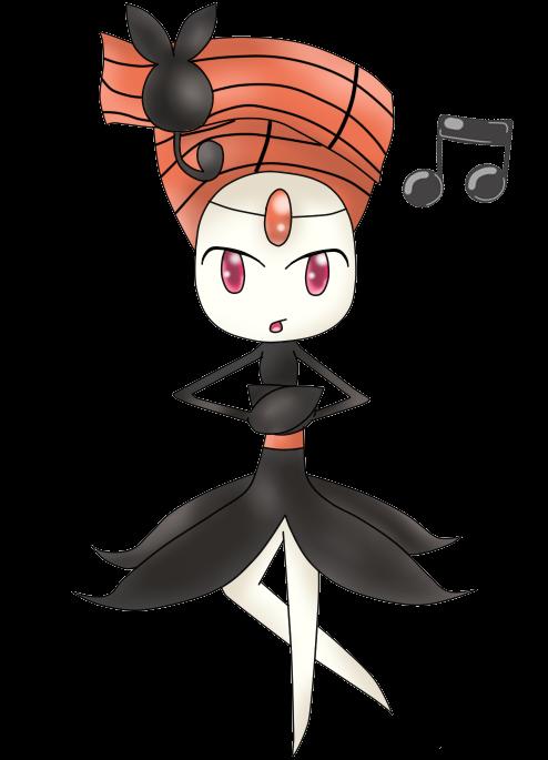648: Meloetta - Pirouette form by blowyourownapple on ...