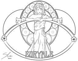Euryale Lineart