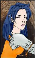 Elven Girl by Vampirella87 by causticgit