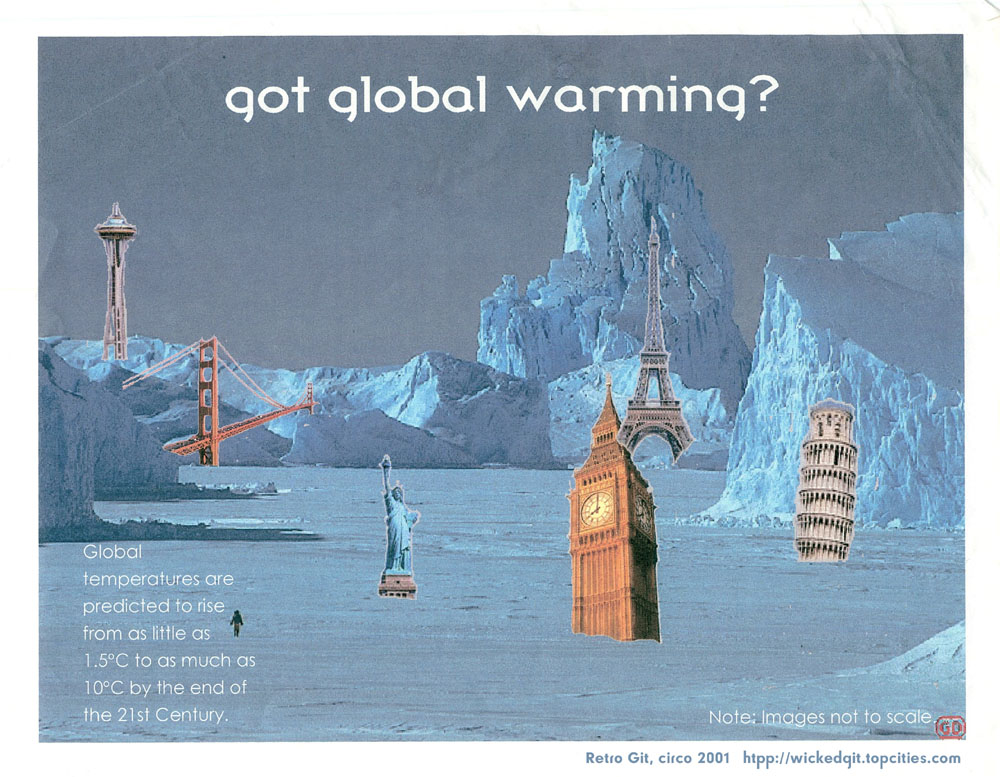 got global warming? by causticgit