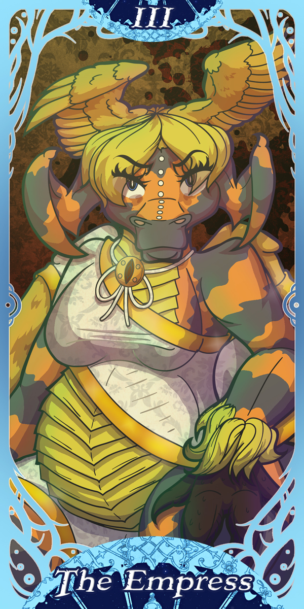 Webcomics Tarot - III The Empress - Veled by lastres0rt