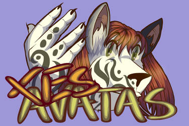 Badge - Xes Avatas the Terrain Wolf Mix