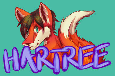Badge - Hartree the Red Fox by lastres0rt