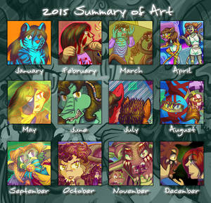 2015 Summary Of Art Meme