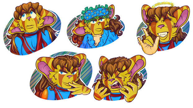 Telegram Stickers - Jigsaw Forte