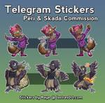 Peri + Skada [Telegram Stickers] [Commission]