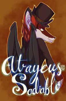Atrayeus Sadiablo the Fox [Badge] [Commission]
