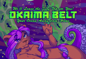 Greetings from the Okaima Belt! [Postcard]