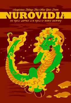 Happy Nurovidia [Postcard]