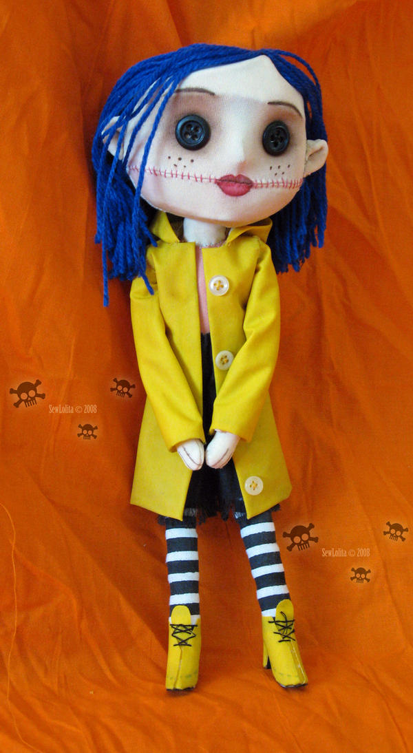 Coraline Doll By Sewlolita On Deviantart