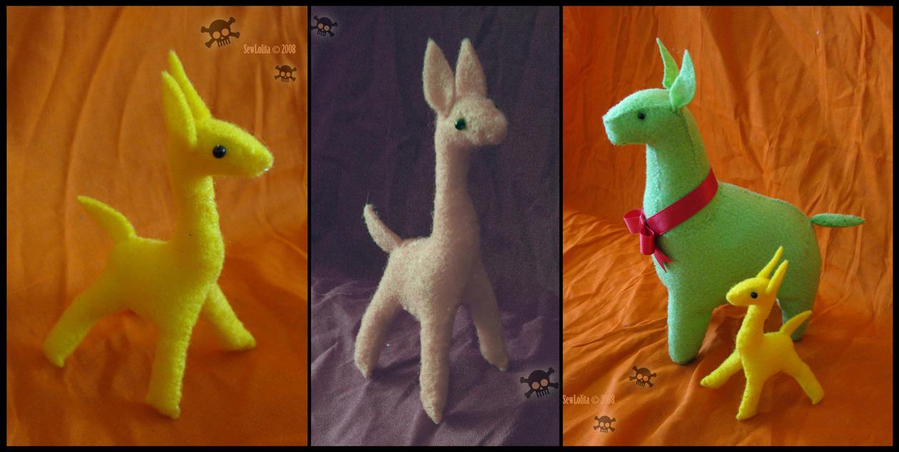 baby llama by SewLolita