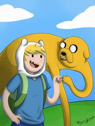 Adventure Time by marianajordan