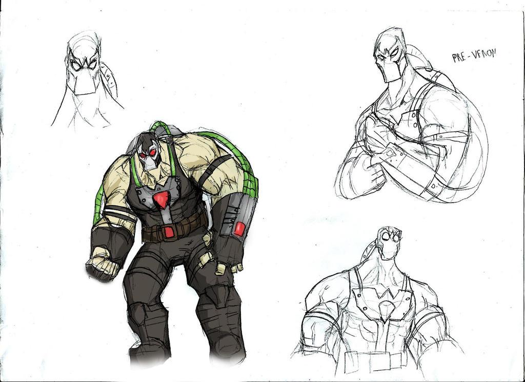 joker comic sketch
