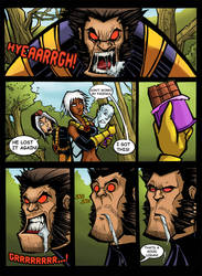THE LEGENDARY X-MEN:THE POWER OF CHOCOLATE! by Sabrerine911