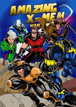 AMAZING X-MEN RODNEY.C.JACOBSEN VARIANT COVER