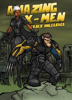 AMAZING X-MEN:DAYS OF FUTURE PAST VARIANT COVER