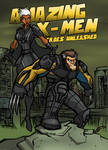AMAZING X-MEN:DAYS OF FUTURE PAST VARIANT COVER by Sabrerine911