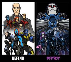 DEFEND AND DESTROY by Sabrerine911
