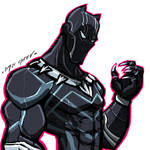 $15 COMMISSION SALE: BLACK PANTHER