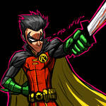 COMMISSION: ROBIN(DAMIAN)