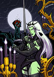 COMMISSION: SHE-DEATH(CASTLEVANIA SOTN HOMAGE)