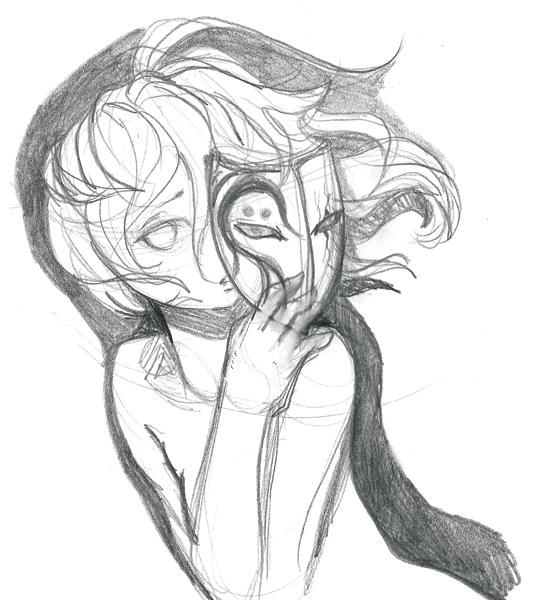 Hakuro no Yume sketch by Naechtliche