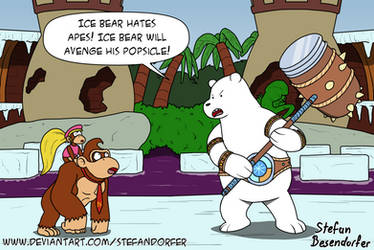 Ice Bear the Unbreakable by Stefandorfer