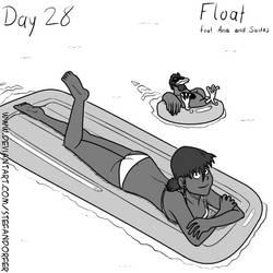Inktober Day 28 - Float