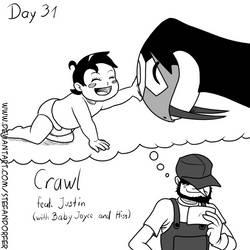 Inktober Day 31 - Crawl