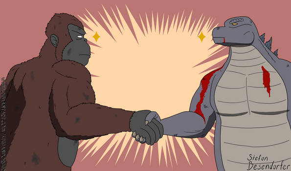 Kaijuu Handshake