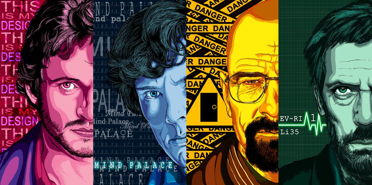 Fan Art Will Sherlock Heisenberg Dr House By