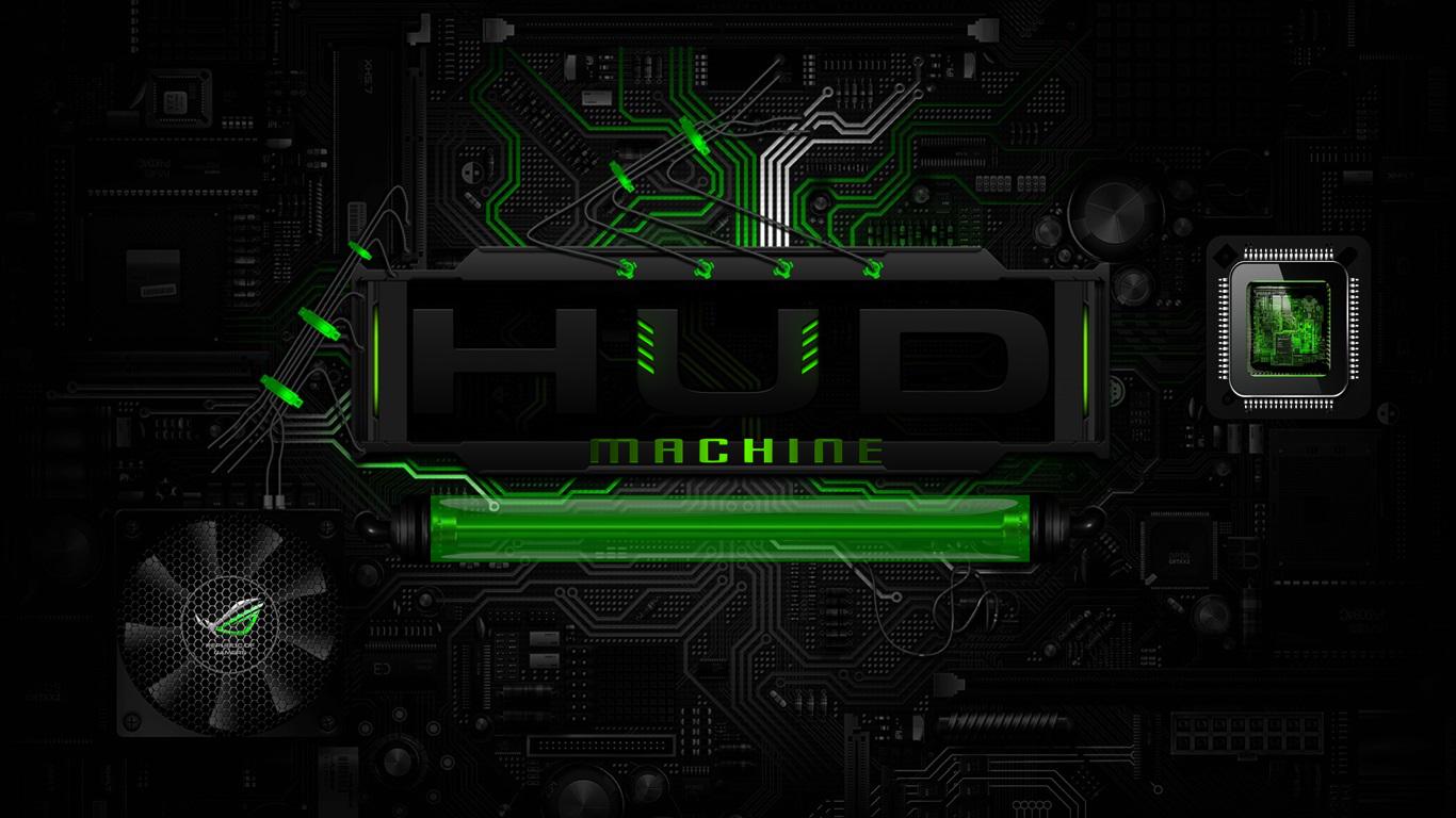 Hud Machine Digital Circuits Remod By Xxaries1970xx On Deviantart