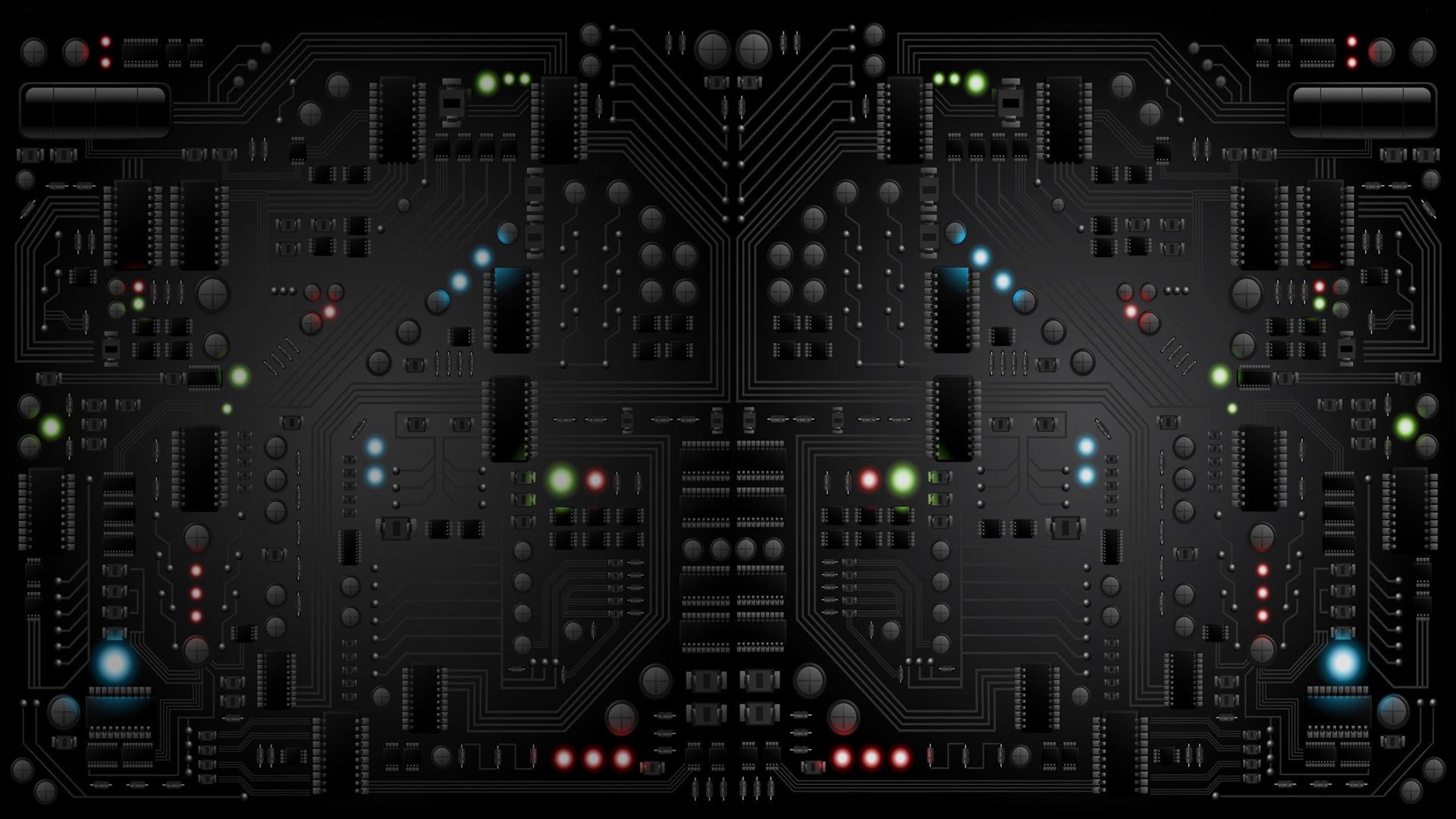 black circuit board wiring - photo #20