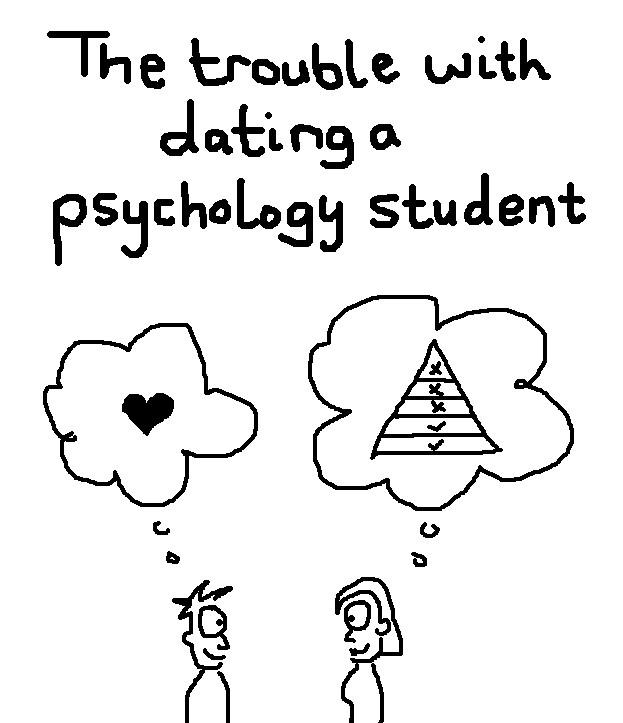 Dating a psychology student