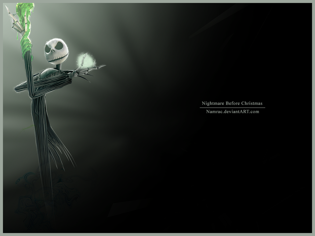Nightmare Before Christmas By Namrac ...