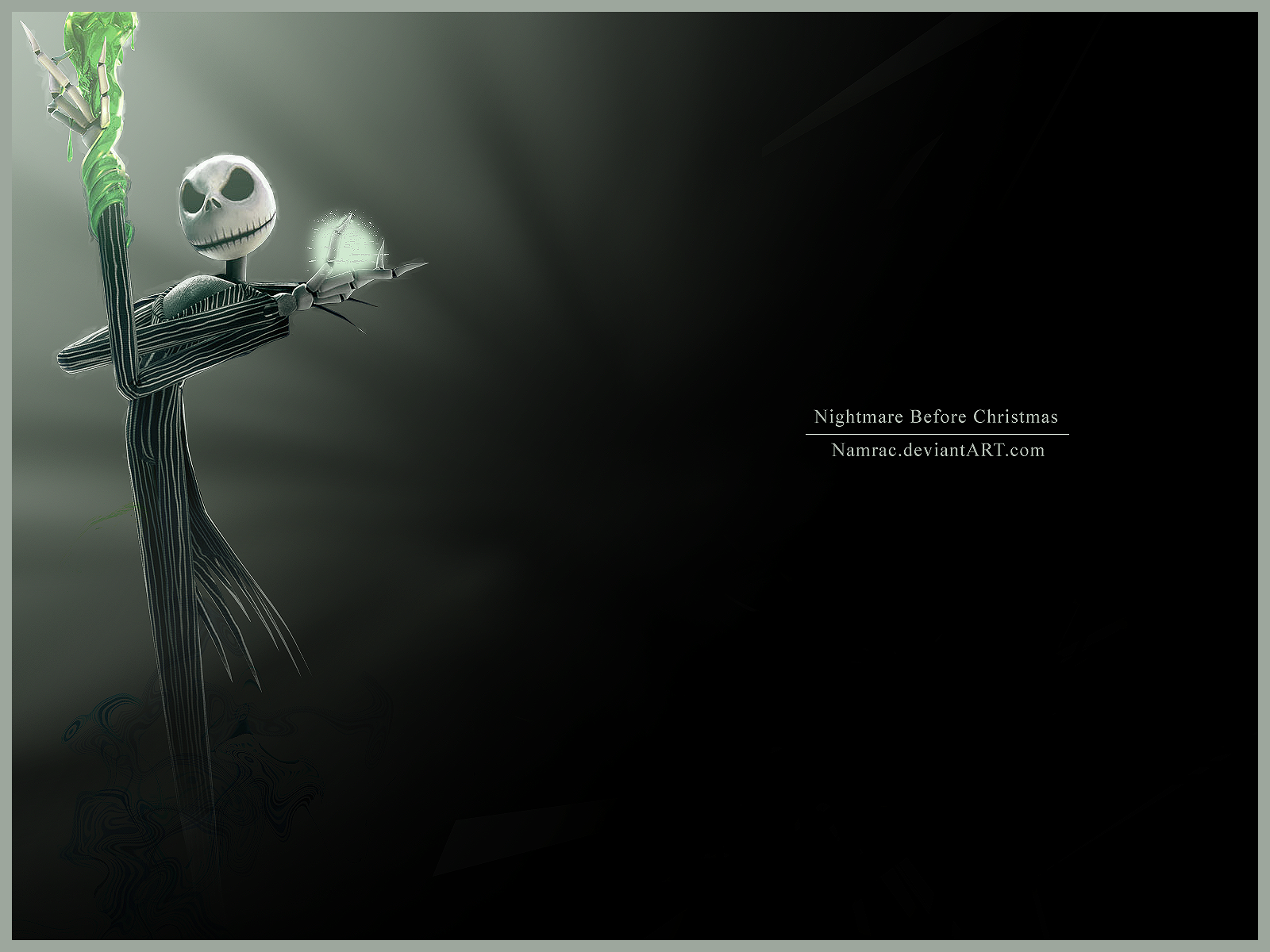 Nightmare Before Christmas by Namrac