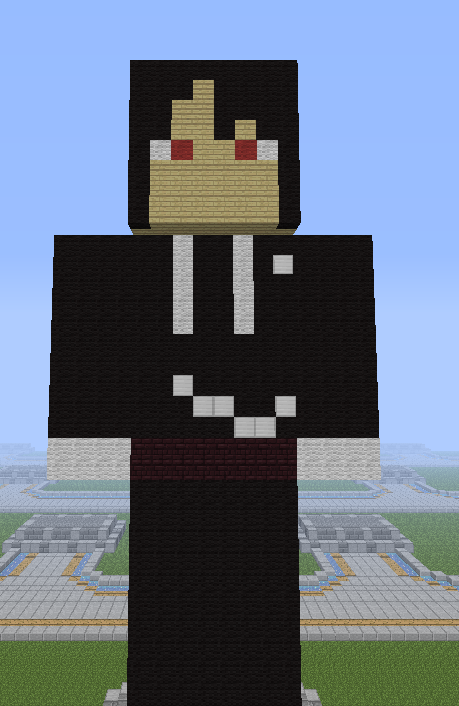 Minecraft Black Butler Sebastian by SilentEmmet