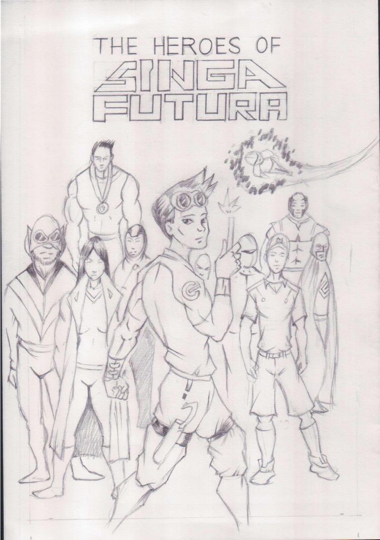 New Idea - Heroes of Singa Futura by LastMatStanding