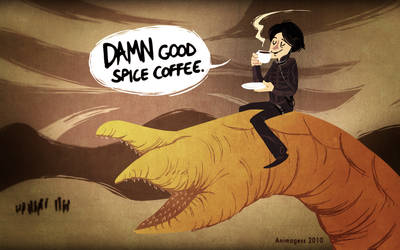 DAMN Good Spice Coffee. by animagess
