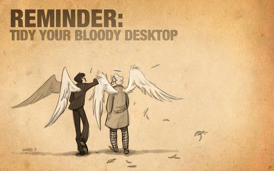 Good Omens: Tidy Your Desktop