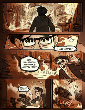 Good Omens: Up In Flames p.1