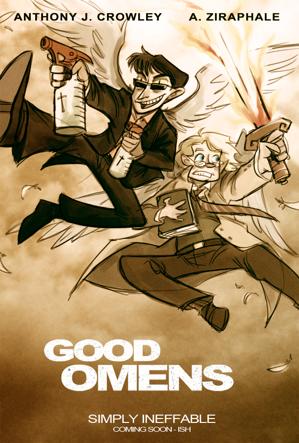 Good Omens: The Other Guys by animagess