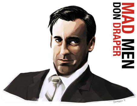 Don Draper Portrait